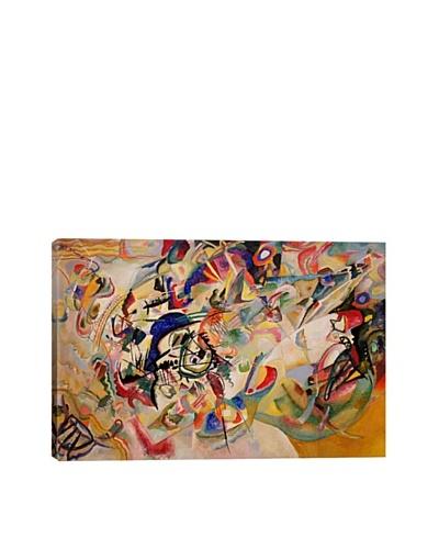 Wassily Kandinsky's Composition VII Giclée Canvas Print