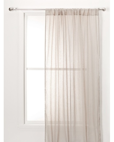 Sheer Linen Panel