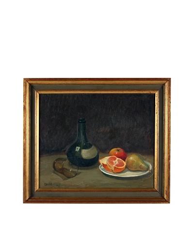 Oddmar Bjãrklund Still Life, 1945 Framed Artwork