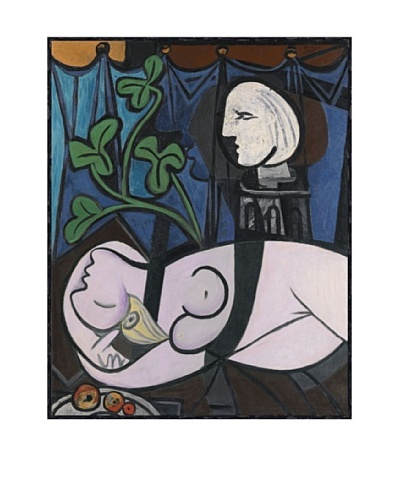 Pablo Picasso Nude, Green Leaves and Bust, 1932 Framed Art