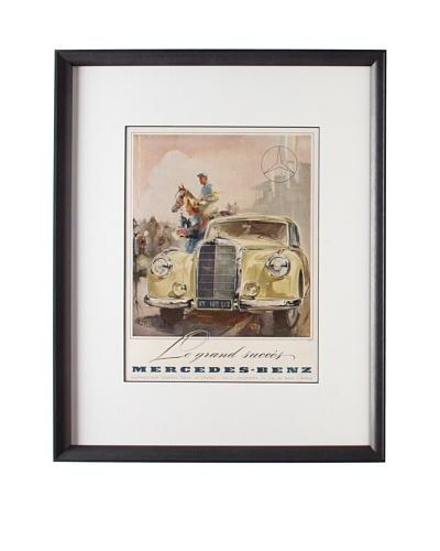 Original French Mercedes-Benz Advertisement, 1951