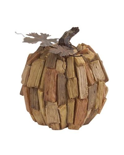 Melrose Driftwood Pumpkin, Natural