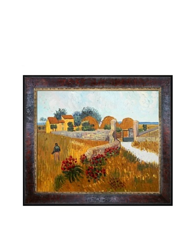 Vincent Van Gogh Farmhouse in Provence Framed Oil Painting