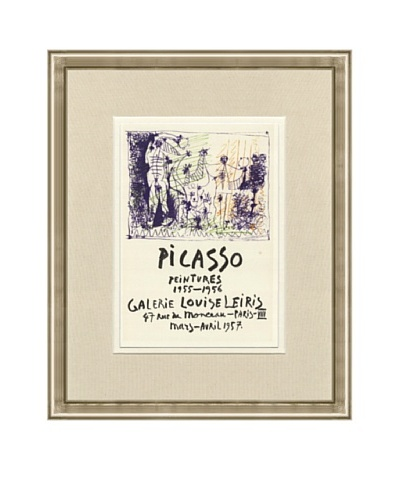 Pablo Picasso: Galerie Louise Leiris