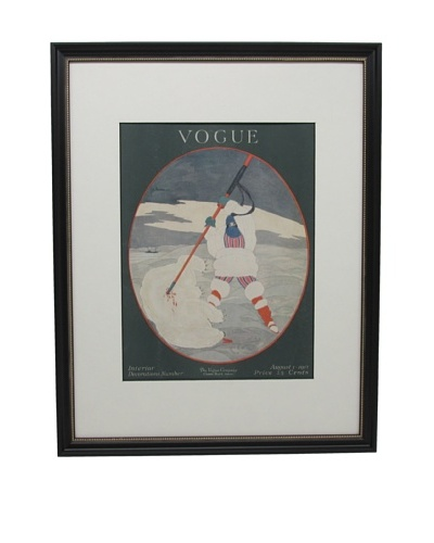 Original Vogue Cover from 1917 by Georges Lepape