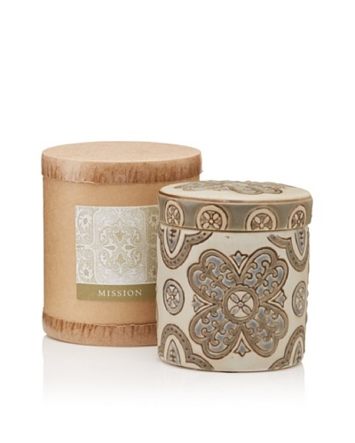 Scented Candle Jar in Gift Box, Mission, 10-Oz.