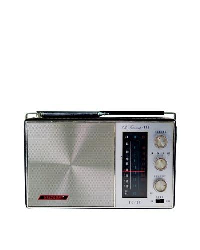 Vintage Viscount Radio, Black