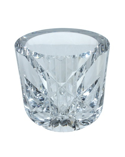 Orrefors Cut Glass Vase, Clear