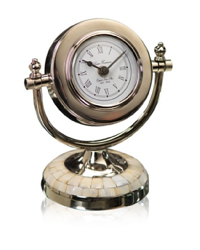 Louis Fontaine Clock on Mother of Pearl Base