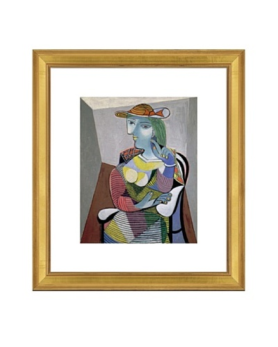 Pablo Picasso Portrait of Marie-Therese, 6th January 1937 Framed Art