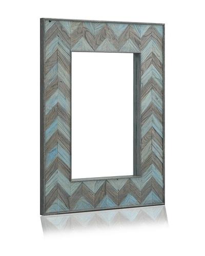 Parker Rectangular Mirror, Ocean Elm/Antique Elm