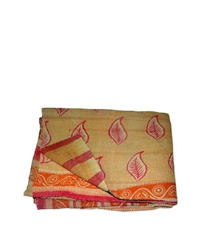 "Vintage Kantha Throw Kanti, Multi, 60"" x 90"""