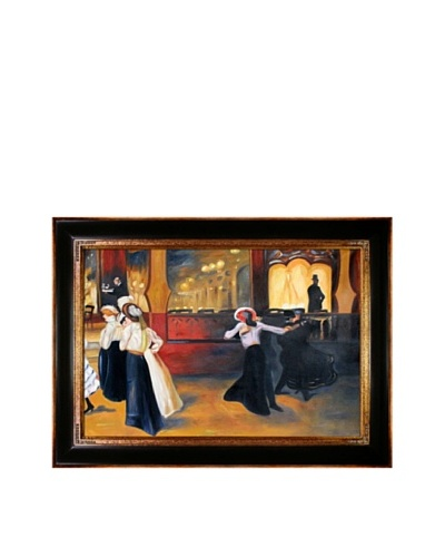 Oil Reproduction of Alfred Maurer's La Bal Bullier, 1900-01As You See