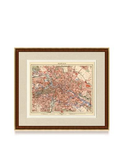 Antique Berlin 1890's Map