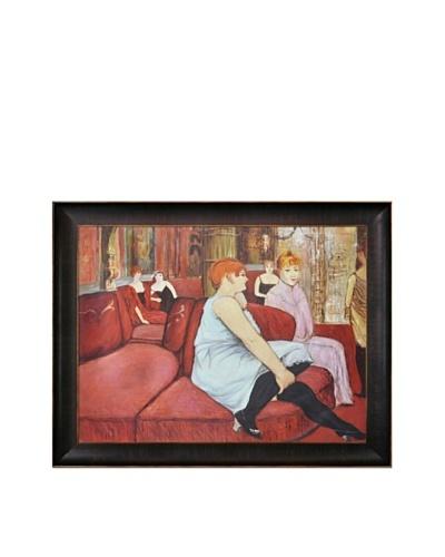 Toulouse Lautrec: Salon at the Rue des Moulins, 1894As You See