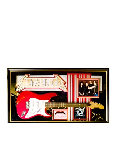 Signed Metallica Guitar