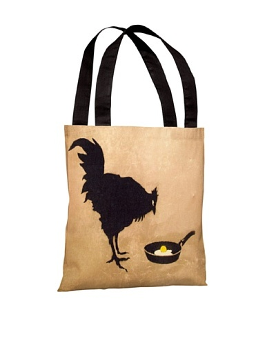 Banksy Chicken and the Egg Tote Bag