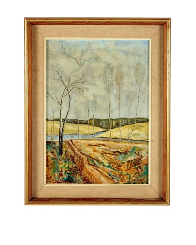 F. Muller Landscape, 1938 Framed Artwork