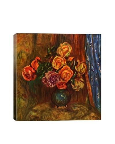 Pierre-Auguste Renoir's Pitcher of Flowers Giclée Canvas Print