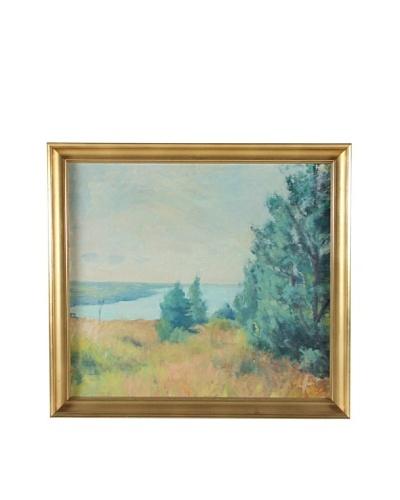 Landscape, 1955 Framed Artwork