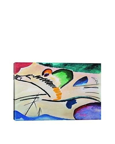 Wassily Kandinsky's Lyrically (Lyrisches) Giclée Canvas Print
