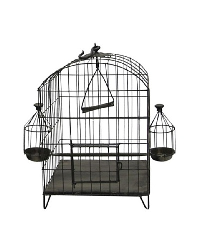 Dome Shaped Iron Bird Cage