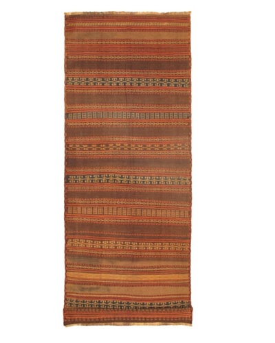 Shirvan Transitional Kilim, Brown, 4' 7 x 12' 8