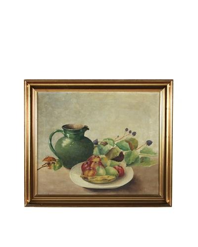 Pitcher & Fruit Framed Artwork