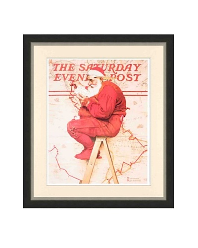 Norman Rockwell, Santa at the Map