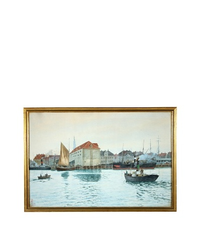 The Port Framed Artwork