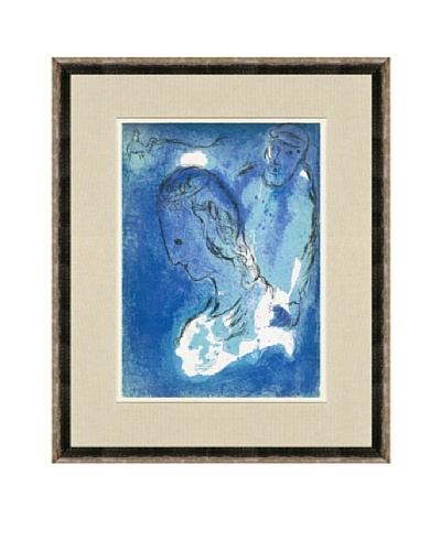 Marc Chagall: Abraham And Sarah