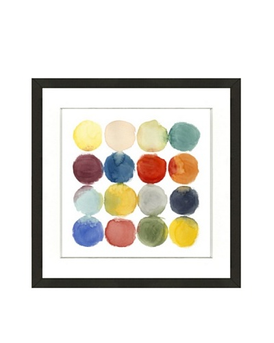 Color Study Framed Giclée Print