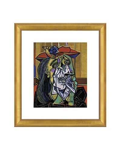 Pablo Picasso Weeping Woman Framed Art