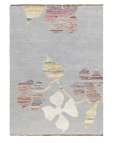 Hand Woven Allure Kilim, Light Blue, 5' 4 x 7' 4
