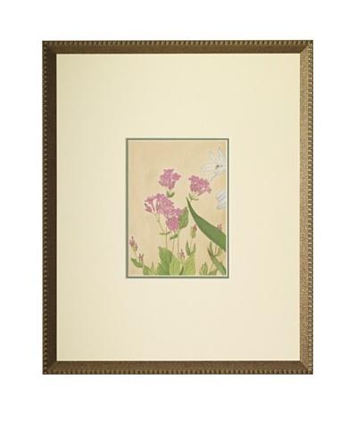 1918 Botanical Japanese WoodblockAs You See