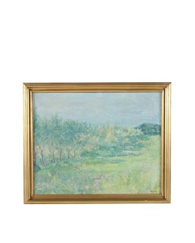 Dijon In Spring Framed Landscape