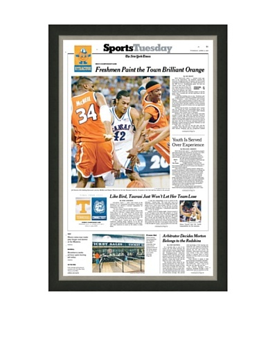 Final Four: Syracuse vs. Kansas 2003