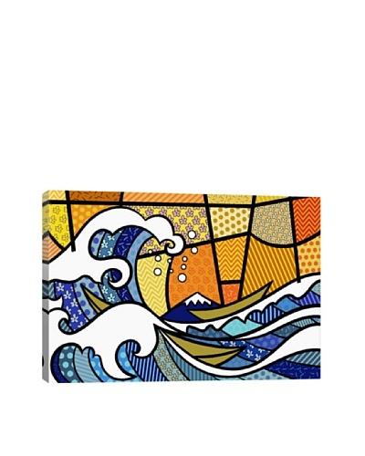 The Great Wave off Kanagawa 2 (After Hokusai) Canvas Giclée Print