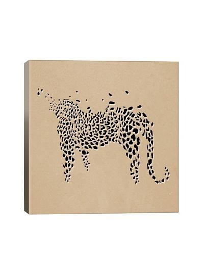 Modern Art Leopard Print Giclée on Canvas