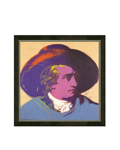 Andy Warhol: Goethe Red and Black