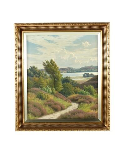 Svend Drews Landscape Framed Artwork