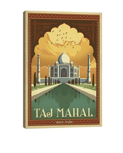 Taj Mahal - India Giclée Canvas Print