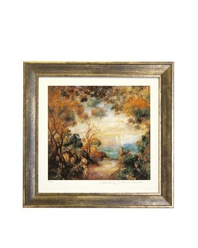 Pierre-Auguste Renoir Garden in Sorrento Limited Edition Giclée