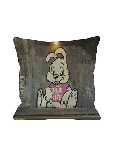 Banksy Thug for Life Bunny Pillow