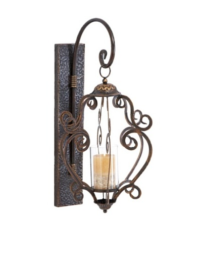 Exotic Candle Wall Sconce