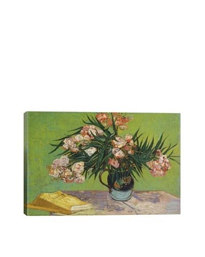 Vincent Van Gogh's Oleanders (1888) Giclée Canvas Print