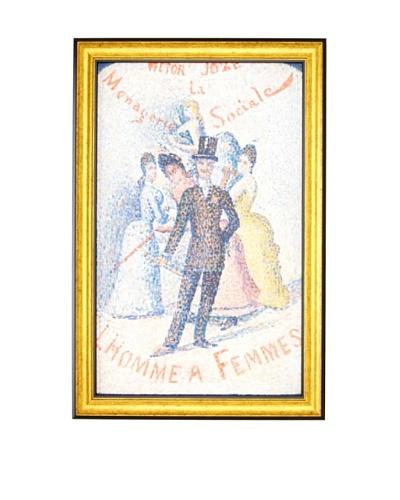 Georges Seurat: The Ladies' Man (L'Homme à femmes), 1890