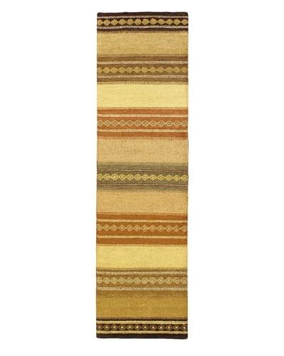Gabbeh Modern Rug, Cream, 2' 9 x 10' Runner