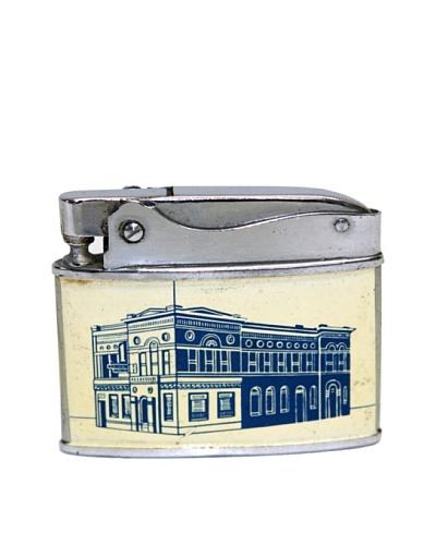 Vintage Circa 1950's First National Bank, Mandan N. Dakota Advertisement Lighter