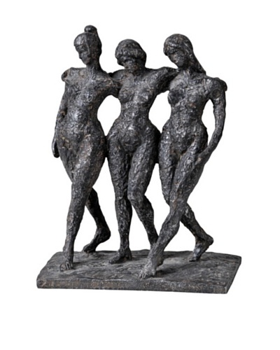 Trio, Antique Bronze